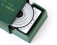 Free Retro Exposure Meter Stock Photography - 8910212