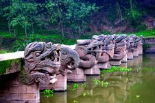 Free Chinese Dragon Pontine Stock Photography - 8911262