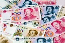 Free Chinese Currency Notes Royalty Free Stock Photos - 8912048