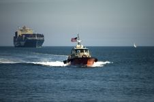 Free Pilot Boat Stock Photography - 8912912