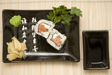 Free Sushi Plate Stock Photography - 8912982