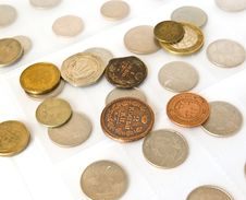 Free Old Coins Collection Royalty Free Stock Photography - 8913387