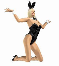 Free Bunny Girl Stock Photos - 8913733
