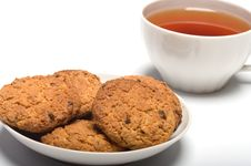 Oats Cookies. Royalty Free Stock Image
