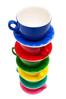 Free Color Cups Royalty Free Stock Photography - 8914807