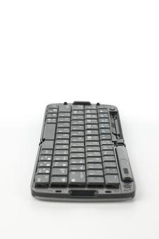 Free Compact Black Keyboard Royalty Free Stock Image - 8915696