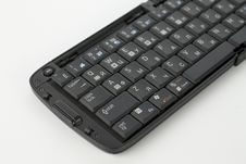 Free Compact Black Keyboard Royalty Free Stock Images - 8915709