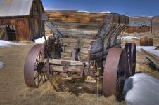 Free Old Wagon Royalty Free Stock Photos - 8915788