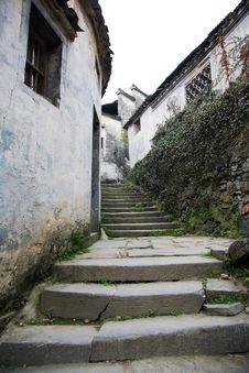 Free Chinese Village Street Stock Photos - 8918273