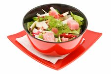 Free Salad With Tunny Stock Image - 8918581