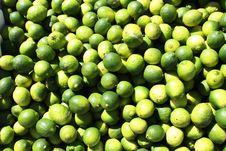 Green Limes Stock Photos