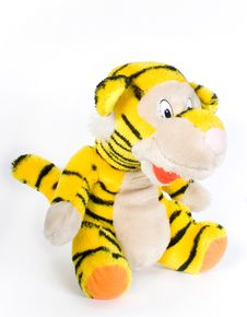 Free Toy Tiger Royalty Free Stock Photos - 8919048