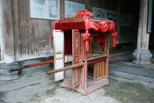 Free Chinese Sedan Chair Royalty Free Stock Photography - 8919577