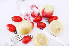 Free Fruit And Glass Stock Images - 8919634