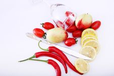 Free Fruit And Glass Stock Photography - 8919732