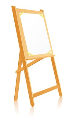 Free Easel Stock Photography - 8919802