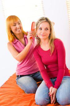 Free Hairdo Royalty Free Stock Photos - 8919998