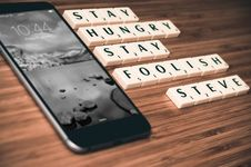 Free Stay Hungry Stay Foolish Stock Photos - 89129073