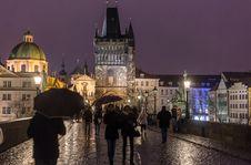 Free Prague Charles Bridge Royalty Free Stock Photography - 89131067