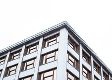 Free View Of White Building With Brown Glass Window Frame Stock Photo - 89192670