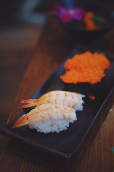 Free Sushi Plate Royalty Free Stock Image - 89194856