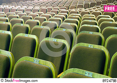 Free Seats Of Auditorium Royalty Free Stock Photos - 8924788