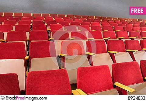 Free Seats Of Auditorium Stock Photos - 8924833