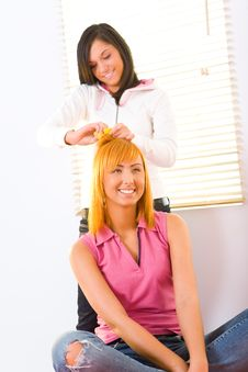 Free Hair Styling Royalty Free Stock Photography - 8920047