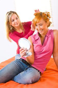 Free Hairdo Royalty Free Stock Image - 8920106