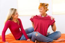 Free The Choice Of The Clothes Royalty Free Stock Photography - 8920137