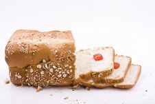 Free Bread With Tomato Royalty Free Stock Photo - 8920425