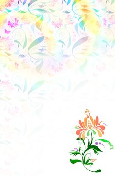 Free Floral Background Stock Image - 8921221
