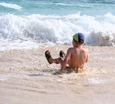 Free On The Beach Stock Photos - 8921313