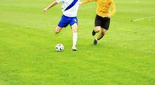 Free Soccer Match Royalty Free Stock Photography - 8921877