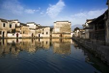 Free Chinese Village,hongcun Stock Photo - 8923530