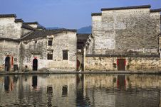 Free Old Village,hongcun Stock Image - 8923531