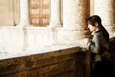 Free Young Woman In Palace Stock Photos - 8923643
