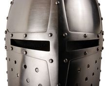 Iron Helmet Royalty Free Stock Photo