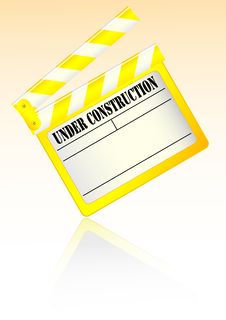 Free Yellow Clapboard Royalty Free Stock Photography - 8923977