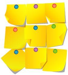 Free Yellow Paper Royalty Free Stock Photo - 8923985
