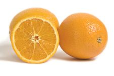 Free Citrus Orange Fruits Isolated On White Stock Photos - 8925513