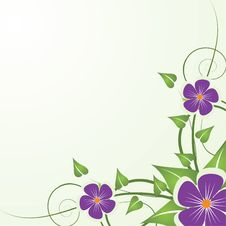 Free Abstract Floral Background Royalty Free Stock Photo - 8925805