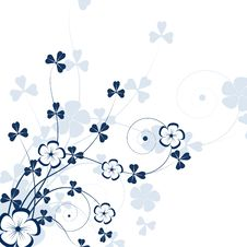 Free Abstract Floral Background Royalty Free Stock Photography - 8925897