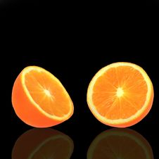 Free Juicy Orange Stock Photography - 8926022