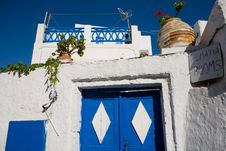 Free Greek Guest House Stock Photos - 8926083