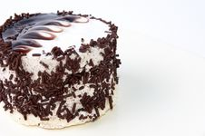 Free The Beauty Chocolate Cake Isolated On Whine Royalty Free Stock Image - 8926116