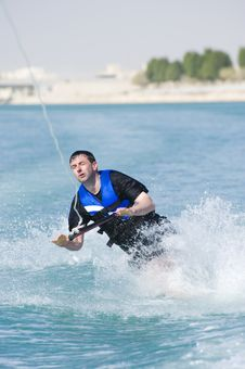 Free Wakeboarder In Action Stock Photo - 8926130