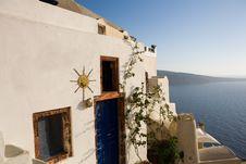 Free Greek House Stock Image - 8926391