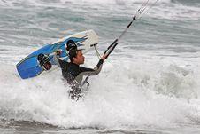 Free Kitesurfer Stock Photo - 8926450