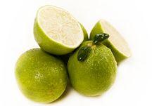 Free Green Lemons Stock Photography - 8928182